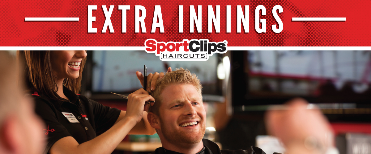 The Sport Clips Haircuts of Morganton Heights Extra Innings Offerings